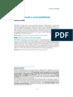 Dowbor_Inovação Social e Sustentabilidade