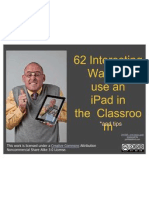 58 interesting ways to use an ipad in the cla