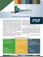 Flier OpenBio Sept2011