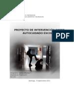 PROYECTO PRACTICA 3 Sobre Autocuidado Escolar Natalia Briones