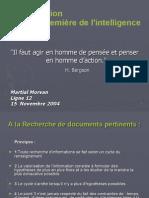 L'information intélligence écoCOURS1