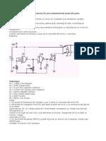 Control de Velocidad Para Motores DC Por Modulaciónde Ancho