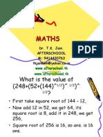 27 May Maths II