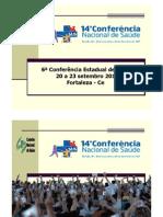 6ª Conferência Estadual de Saúde do Ceará - 20 a 23.09.2011 - Participação e Controle Social - Ruth [Modo