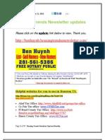 Housing Trends Newsletter Updates Monthly.