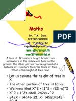 10 June Maths III