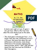 16 June Maths III
