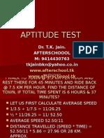 20 June Aptitude Test