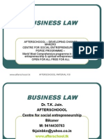 25 July Business Law
