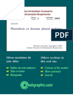 Review Pleuredesis Derrame Maligno