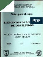 Mecánica de fluidos TORSORES Julio Borghi (Universidad de la República Oriental del Uruguay)