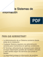 Gestion de Sistemas Operativos Admin is Trac Ion