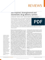 2. Mitragotri's Review Paper on Drug Delivery Vehicles