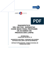 Diagnostico Del Sector Imprentas