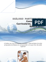 DIÁLOGO  PARTICIPATIVO Consulta Bases Curriculares, Educación Básica - VisualBee
