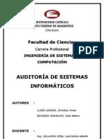 Auditoria de Sistemas cos