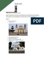 Zonas de Guatemala