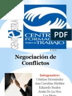 Negociacion de Conflictos