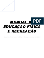 7683344 Manual de Ed Fisica e Recreacao