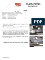 SkyJacker Dodge LCSB260 Install Manual