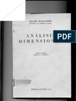 Analisis Dimensional Julio Palacios