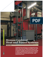 Biomass Combined Heat and Power Generation