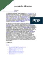 Instituciones españolas del Antiguo Régimen