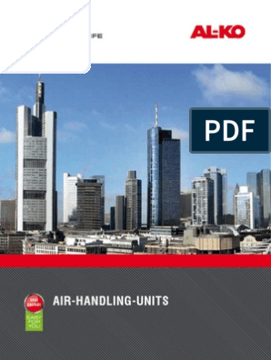 Al Ko Air Handling Units Catalog 2011 | Air Conditioning | Hvac