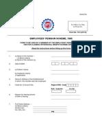 EPF form no 10 C