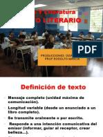 El Texto Literario (Rm) 1.5