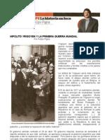 Felipe Pigna - Hipolito Yrigoyen y La Primera Guerra Mundial