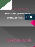 PERSONALIDAD - PSICOLOGÍA