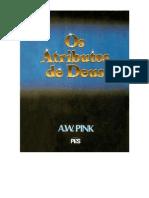 Arthur w Pink Os Atributos de Deus