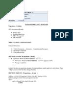 Tcs Test Paper 1