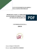 Implementacion TPM en Molino Harina