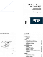 Medida e Forma-Em Geometria - Elon Lages Lima