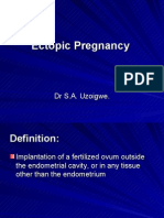 Ectopic Pregnancy Student Lecture