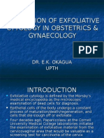 Application of Exfoliative Cytology in Obstetrics & Gynaecology