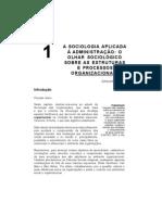 Capítulo 1 - A sociologia aplicada à administração