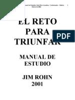 Rohn, Jim - El Reto Para Truinfar (Manual de Estudio)