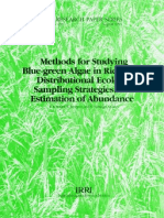 IRPS 150 Methods for Studying Blue-graan Algae in Ricefields' Distributional Ecology, Sampling Strategies, and Estimation of Abundance