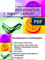 Contraception for the 21st Century