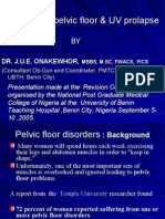NPMC Disotrders of Pelvic Floor & Uv Prolapse Final 2