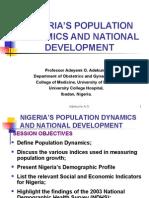 Ngr s Population Dynamics
