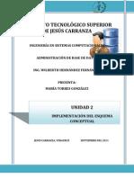 Unidad II Admin is Trac Ion de Base de Datos