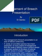 Management of Breech Presentation