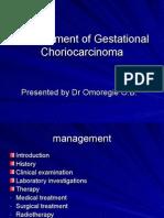 Management of Choriocarcinoma