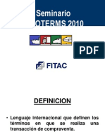 Incoterms 2010 Fitac
