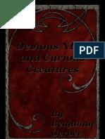 Pathfinder - Devious NPCs and Curious Creatures