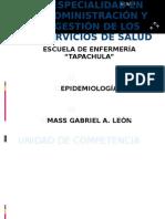 ESPECIALIDAD EN ADMINISTRACIÓN Y GESTIÓN DE LOS SERVICIOS